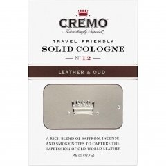 Leather & Oud (Solid Cologne) by Cremo