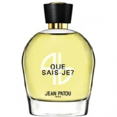 Collection Héritage - Que Sais-Je? (2014) by Jean Patou