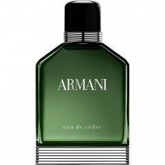 Eau de Cèdre by Giorgio Armani