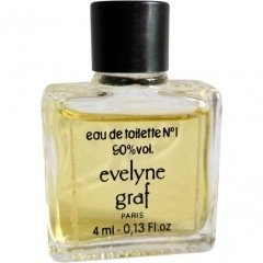 Eau de Toilette N° 1 by Evelyne Graf