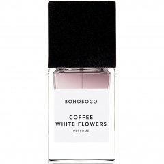 Coffee White Flowers von Bohoboco