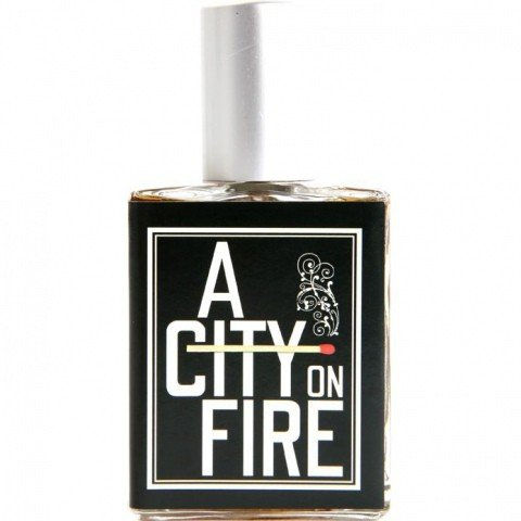 A City On Fire by Imaginary Authors