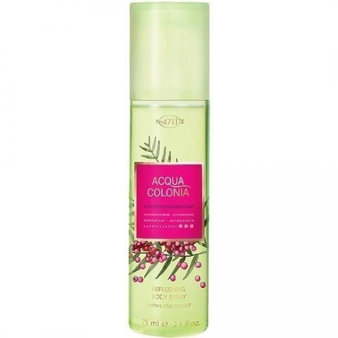 Acqua Colonia Pink Pepper & Grapefruit (Bodyspray) by 4711