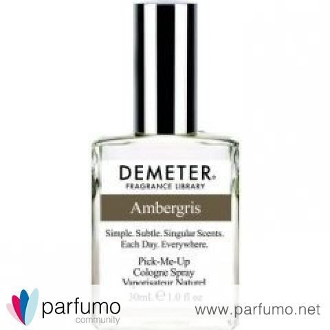 Ambergris von Demeter Fragrance Library / The Library Of Fragrance