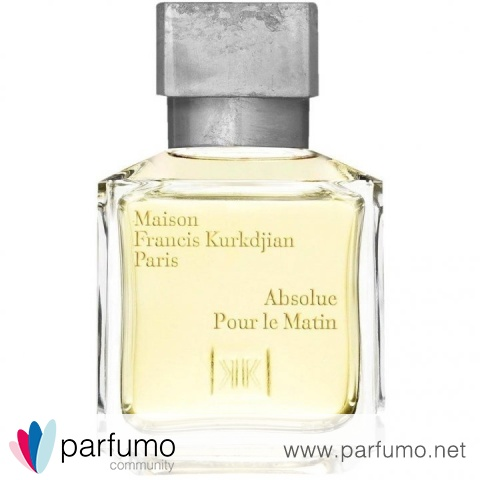 Absolue Pour le Matin by Maison Francis Kurkdjian