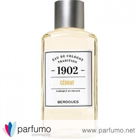1902 Eau de Cologne Tradition - Cédrat by Berdoues