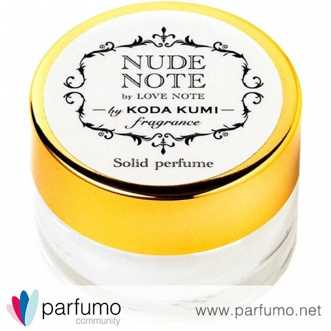 Nude Note / ヌードノート (Solid Perfume) by Kumi Kōda / 倖田來未