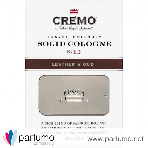 Leather & Oud (Solid Cologne) von Cremo