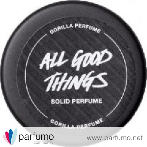 All Good Things (Solid Perfume) by Lush / Cosmetics To Go