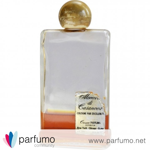 Memoires di Casanova by Casan Parfums