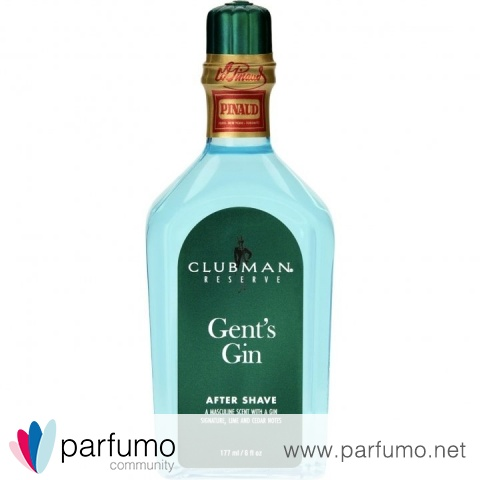 Gent's Gin by Clubman / Edouard Pinaud