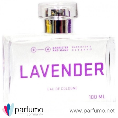 Barrister's Reserve - Lavender (Eau de Cologne) by Barrister And Mann