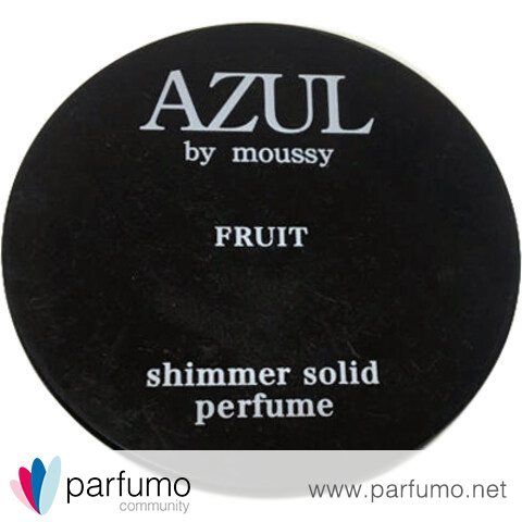 AZUL by moussy - Fruit / アズール バイ マウジー フルーツ (Shimmer Solid Perfume) by moussy / マウジー