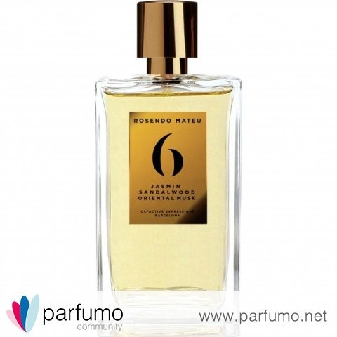 6 - Jasmin, Sandalwood, Oriental Musk by Rosendo Mateu - Olfactive Expressions