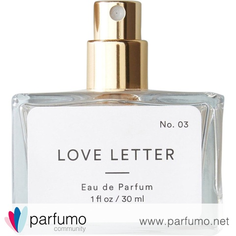 No. 03 - Love Letter by Anthropologie