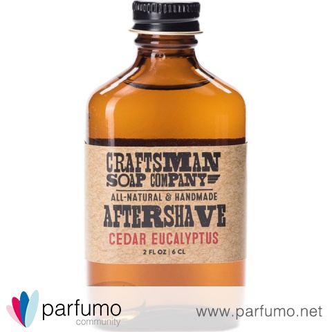 Cedar Eucalyptus (Aftershave) von Craftsman Soap Company