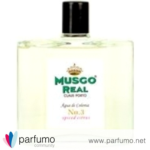 Musgo Real - No. 3 Spiced Citrus by Claus Porto