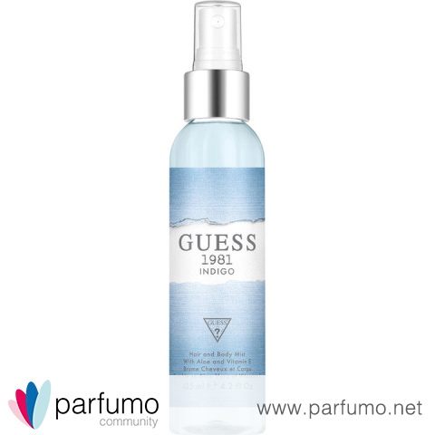 Guess 1981 Indigo for Women (Hair and Body Mist) by Guess