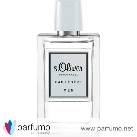 Black Label Eau Légère Men von s.Oliver
