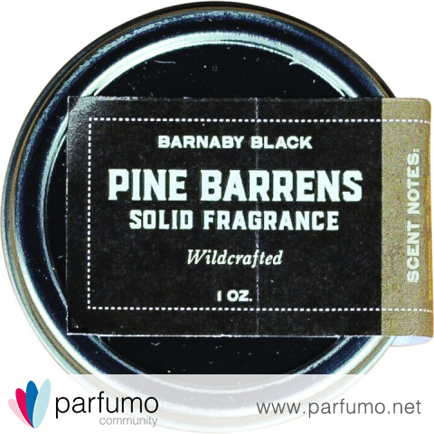 Pine Barrens (Solid Fragrance) by Barnaby Black