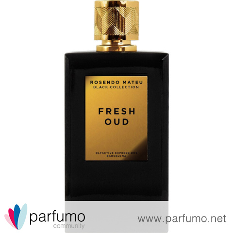 Black Collection - Fresh Oud von Rosendo Mateu - Olfactive Expressions