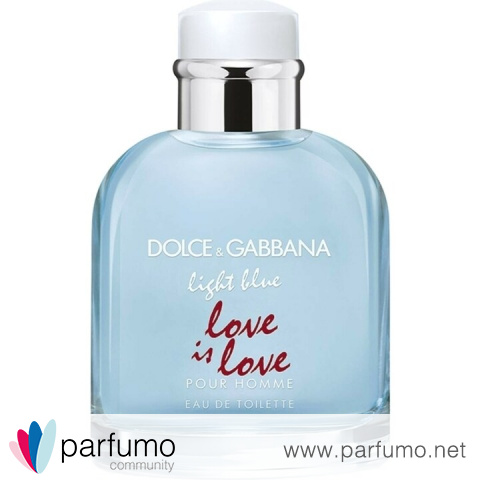 Dolce Gabbana Light Blue Pour Homme Love Is Love