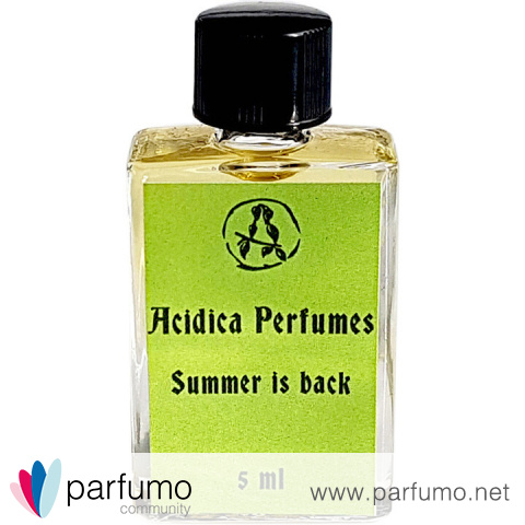 Summer is Back by Acidica Perfumes