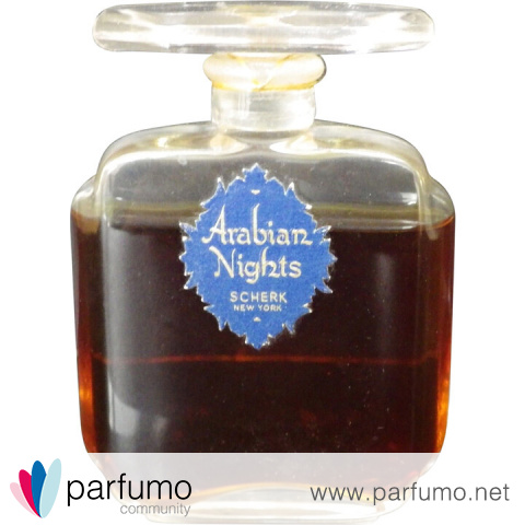Arabian Nights / Arabische Nächte (Perfume) by Scherk