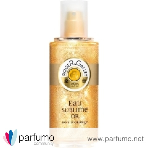 Eau Sublime Or - Bois d'Orange by Roger & Gallet