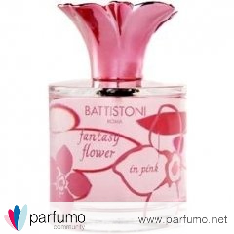 Fantasy Flower in Pink von Battistoni