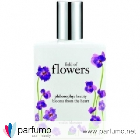 Field of Flowers - Violet Blossom by Philosophy