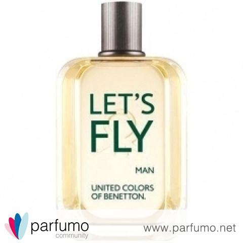 Let's Fly Man von Benetton