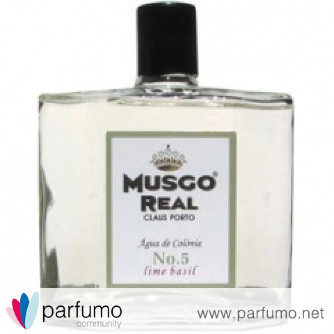 Musgo Real - No. 5 Lime Basil by Claus Porto