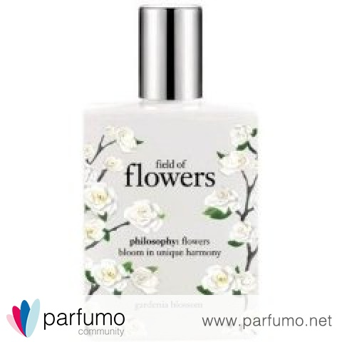 Field of Flowers - Gardenia Blossom von Philosophy