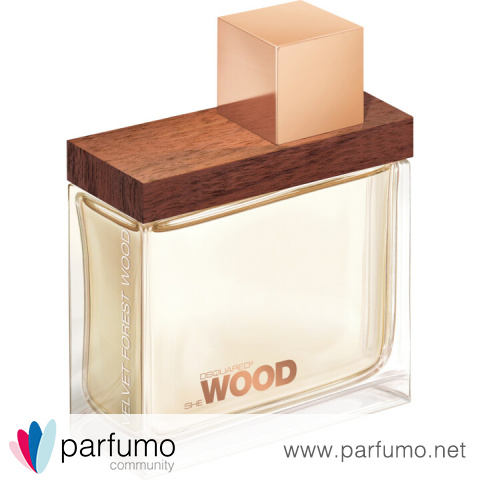 She Wood Velvet Forest Wood by Dsquared²