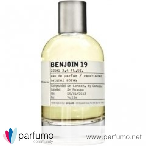 Benjoin 19 by Le Labo