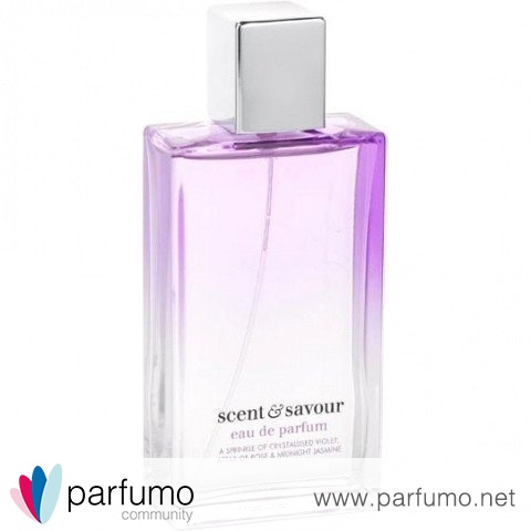 A Sprinkle of Crystallised Violet, Attar of Roses & Midnight Jasmine by Scent & Savour