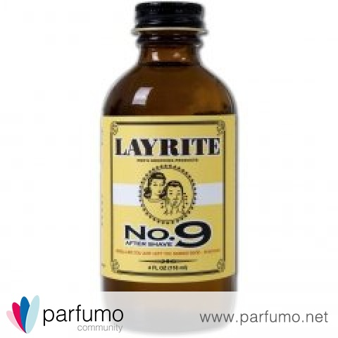 No. 9 Aftershave by Layrite