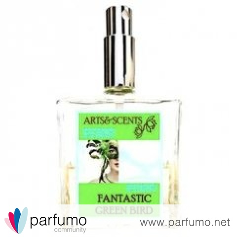 Fantastic Green Bird by Arts&Scents
