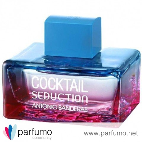 Cocktail Seduction Blue for Women by Antonio Banderas