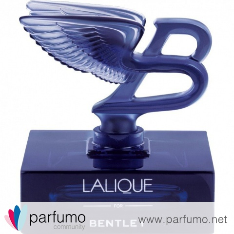 Lalique for Bentley Blue Crystal Edition by Bentley