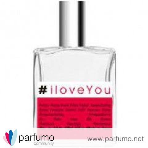 #iloveYou by #Parfums Hashtag