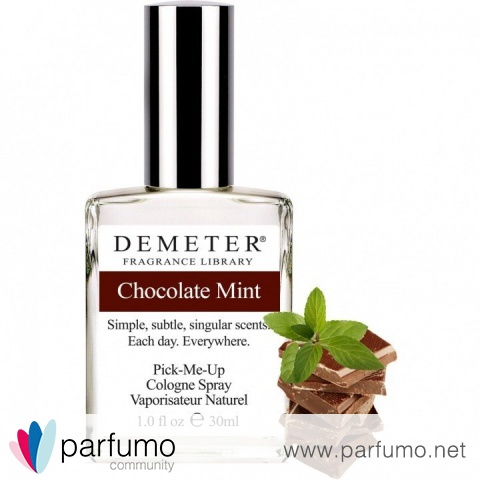 Chocolate Mint / Nach 8 von Demeter Fragrance Library / The Library Of Fragrance
