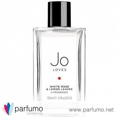 White Rose & Lemon Leaves (Eau de Toilette) von Jo Loves...