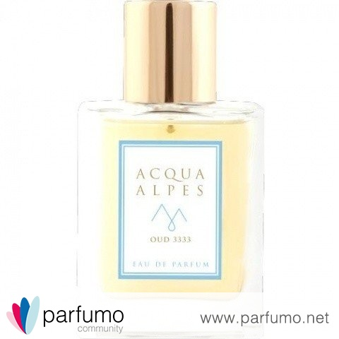 Oud 3333 / Oud Night pour Homme by Acqua Alpes