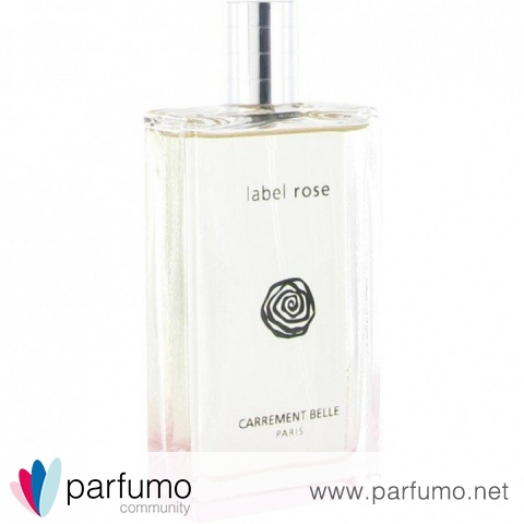 Label Rose (Eau de Parfum) von Carrement Belle