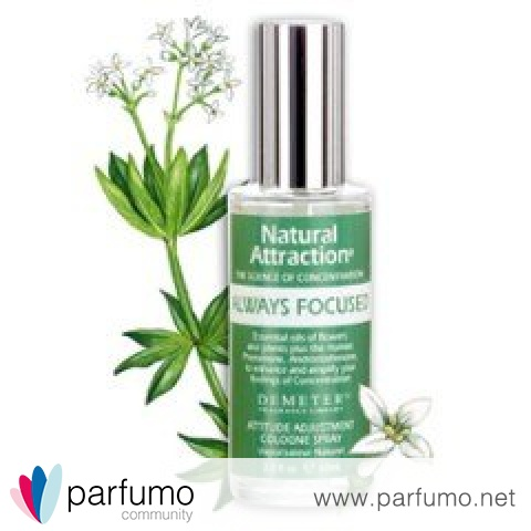Natural Attraction - Always Focused von Demeter Fragrance Library / The Library Of Fragrance