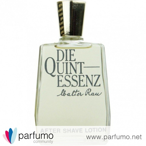 Die Quintessenz (After Shave Lotion) by Speick / Walter Rau / Rau Privat