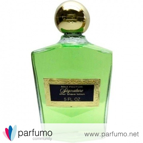 Signature (After Shave Lotion) by Max Factor