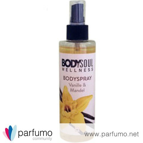 Bodyspray Vanille & Mandel by Body & Soul Wellness